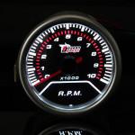 """2 """" 52MM Universal Röd Lysdiod Varvräknare Bil Spår Meter 0-10000RPM Bilelektronik"""