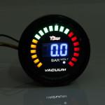 2 Inch 52mm Leds Digital Car Vacuum Bar Meter Racing Egt Gauge Analog Car Electronics