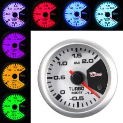 """2"""" Stepper Motor Boost Måler 6241 SW-7 52 * 40 * 18.5 med 7 Farve Change"""