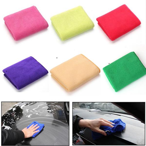 30x70cm Microfiber Absorberende Bil Wash Rengøring Towel Vaskeklud Tilbehør Bilpleje