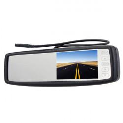 4,3 Zoll spezielle Auto hintere Ansicht Spiegel Monitor mit Touch Screen Taste
