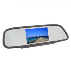 4,3 Zoll TFT Auto LCD Bildschirm HD Rückspiegel