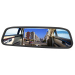 4.3 Inch TFT Car LCD Rear View Rearview DVD Mirror Monitor Car Electronics