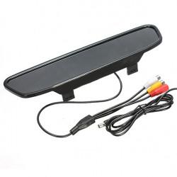 4.3 inch LCD Car Mirror Monitor + 9 IR Night Vision Rear View Camera