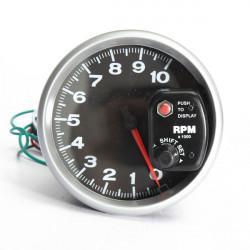 4.7Inch Auto Sport Comp Series 10K RPM Tachometer Gauges Shift Light