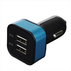 5V 3.1A Dual USB Billaddare Universal Mobile Billaddare A30 Square