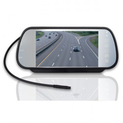 "7"" Bil Backspegel LCD Simulera LED-skärm med MP5 Funktion"