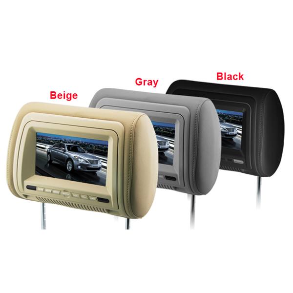 "7"" Headerest Auto DVD Player Monitor Digital Panel Autoelektronik"