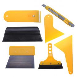 7pc Auto Fenster Vinylfilm Verpackungs Scrape Werkzeuge Scraper Kit