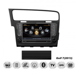 8 Inch Car DVD GPS PC Console Multimedia Navigation for Golf 7 VW