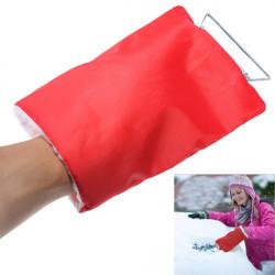 Auto Snö Is Frost Skyffel Vattentät Clean Verktyg Hand Handskar