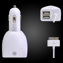 CC36 UNI 5.0V / 4600mA 4 USB Ausgang Power Adapter Car Charger