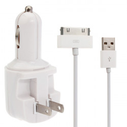CJIP-03A Car Cigarette Lighter Charger with 7 Adapters