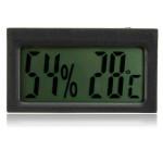 Auto Auto Thermometer Digital LCD Hygrometer Temperatur Feuchtigkeit Autoelektronik