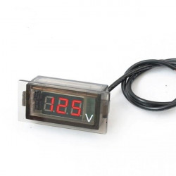 Car Auto Mini Digital LED Voltage Display Panel Volt Meter Voltmeter