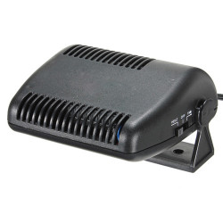 Car Auto Vehicle Portable Ceramic Heater Heating Cooling Fan Defroster