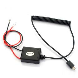 Billaddare Kabel för GPS GSM Tracker TK102 + Hård Tråd
