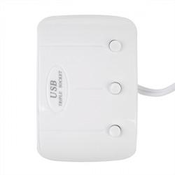 Bil Cigarettändaruttag Splitter Laddare USB med Ljus 12V / 24V