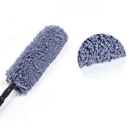 Bil Fiber Utdragbar Wax BrushMop Dust Borste Care Rengöringsprodukter