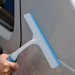 Car Wash Soft Silicone Wiper Windshield Squeegee Drying Blades