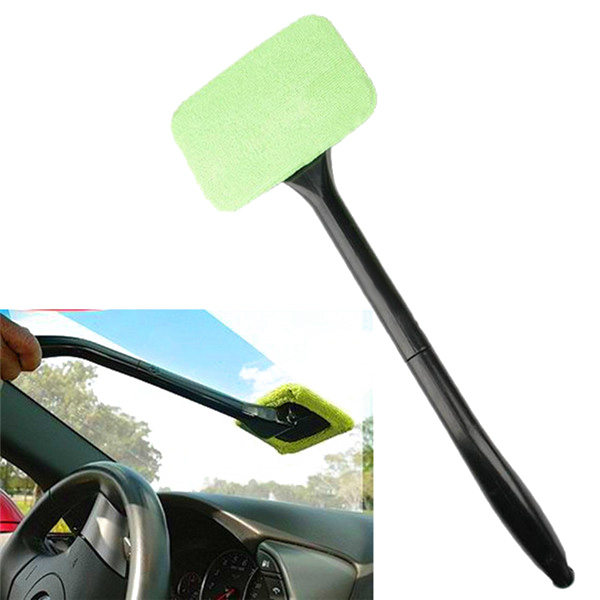 Auto Windschutzscheibenreiniger Wischer Griff Wand Mikrofasertuch Kfz-Wartung / Werkzeuge