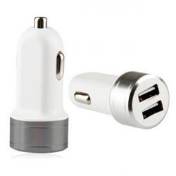 DC12-24V Mini Universal 2 USB Biloplader Adapter Udgang 5V / 3.4a