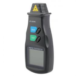 Digital LCD-display Laservarvräknare Non Kontakta RPM Tach Verktyg Meter