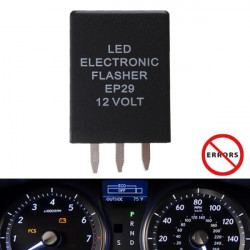 EP-29 LED Flasher Relay Flash Positionslygte Dekoder Load Equalizere