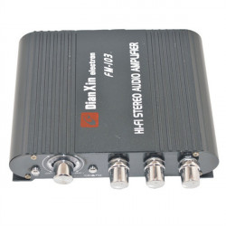 FM-103 HiFi Stereo Audio Amplifier Car Auto AMP With FM For MP3 MP4