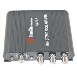 FM-103 HiFi Stereo Audio Forstærker Bil Auto AMP med FM MP3 MP4