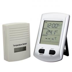 LCD-display Fordon Inomhus Utomhus Termometer Mätare för KG200