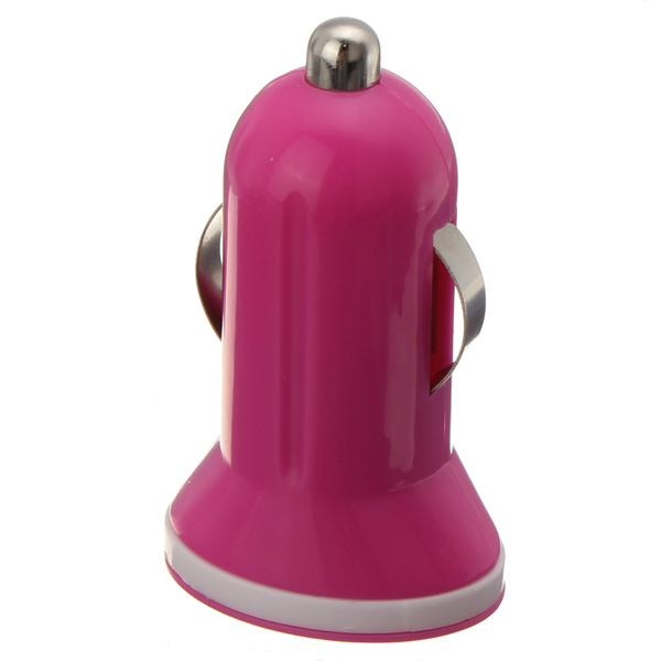 Mini USB Car Charger Colorful for iPhone5/4S SamsungS4.ect Car Electronics