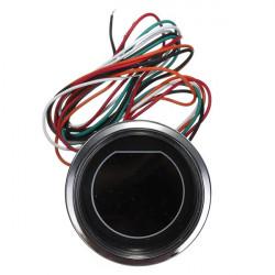 "Universal 2"" 52mm LED Oil Pressure Meter Måler for Motor Sort"