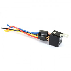 Universal Bil Fordon Relä Kit Fast 5 Pin Socket 5 Wire 20A / 30A