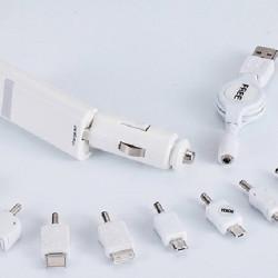 Universal Zigarettenanzünder mit ausziehbarem Dual USB Port