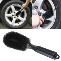 Wheel Tire Rim Scrub Brush Car Truck Bike Wash Washing Cleaning Tool
