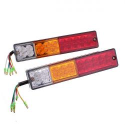 10-30V LED Båt ATV Trailer Stopp bak Tail Bromsljus indikatorlampor