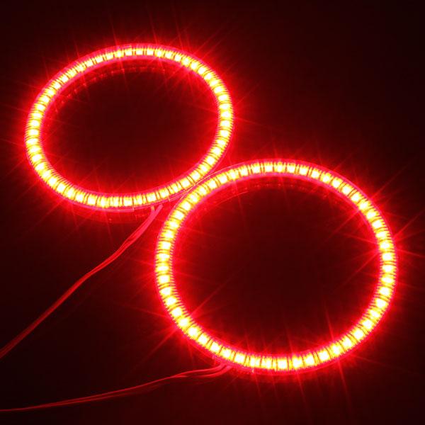 100mm Wagen 54 LED SMD Licht Angel Eye Halo Ring Lampen Birne für BMW Autobeleuchtung