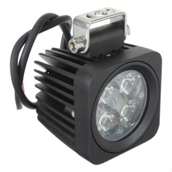 10W 4LED Modular Heavy Duty Spot Lamp Work Light Offroad Truck 12V