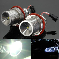 10W CREE LED Angle Eye Halo Ring Light Bulb for BMW E39 E60 12/24V