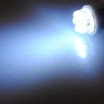 10X 7 LED-lampor Ba9s T4W 233 Vit Sidelight Bil Lampor Bulb Bilbelysning