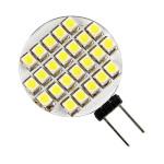 10X G4 24 SMD LED Rent Vitt Bil Marine Husbil RV Spotlight Bulb 12V Bilbelysning