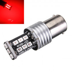 1156 15W LED 15SMD 2835 Samsung LED Ba15s Beam Headlight Lamp