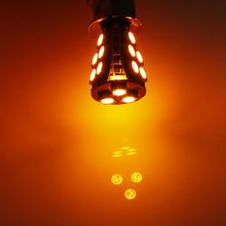 1156 BA15S 18SMD Bernstein / Gelb Canbus OBC fehlerlose Glühlampe Lampe