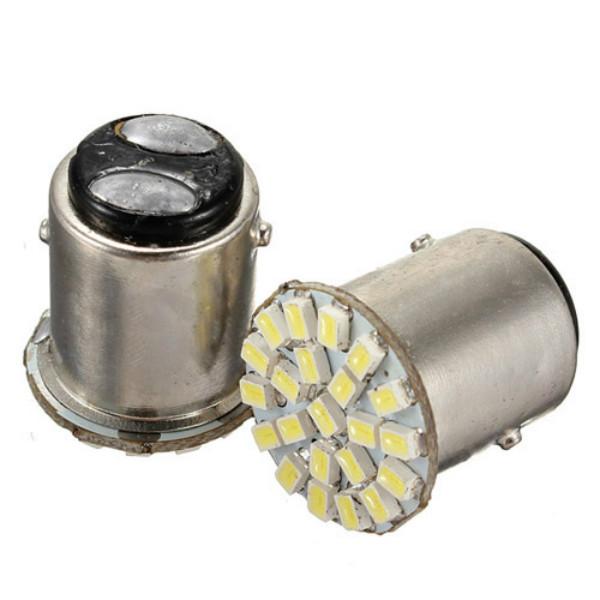 1156 BA15S 22SMD Auto LED Unterstützungsrück Schwanz Glühbirnen Hellweiß Autobeleuchtung