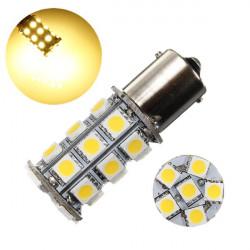 1156 BA15S P21W 27 SMD 5050 LED RV Bilbelysning lampa 12V
