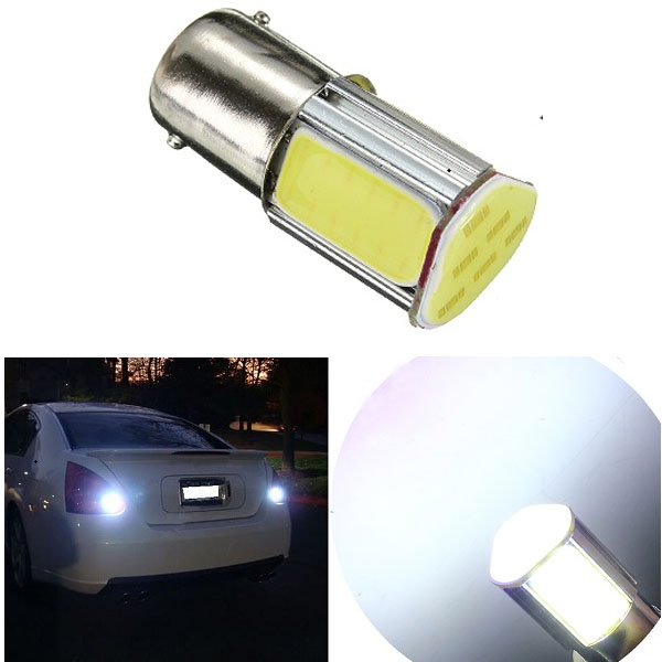 1156 G18 BA15s 4 COB Bil LED Positionslygte Rear Light Bilbelysning