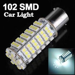 1156 White 102 SMD LED Turn Light Bulb Lamp