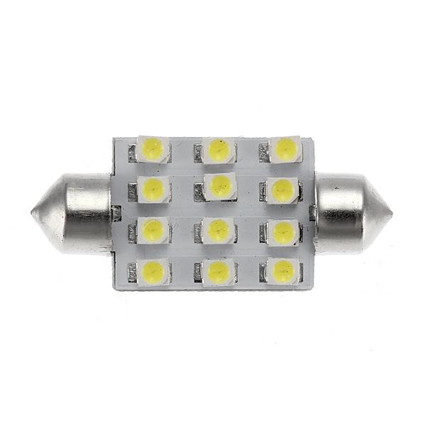 12 SMD 1210 Car LED Festoon Dome Interior Parking Tail Light Lamp Car Lights