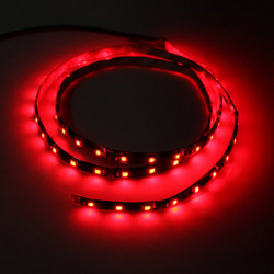 12V 1.2M wasserdichte 60 LED Lichtleiste flexible Red